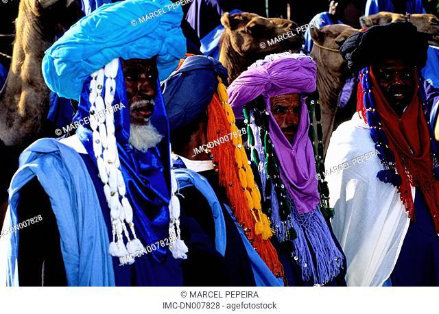 Morocco, Marrakech, tuaregs