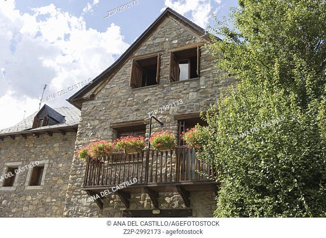 Piedrafita de Jaca village Huesca Aragon Spain