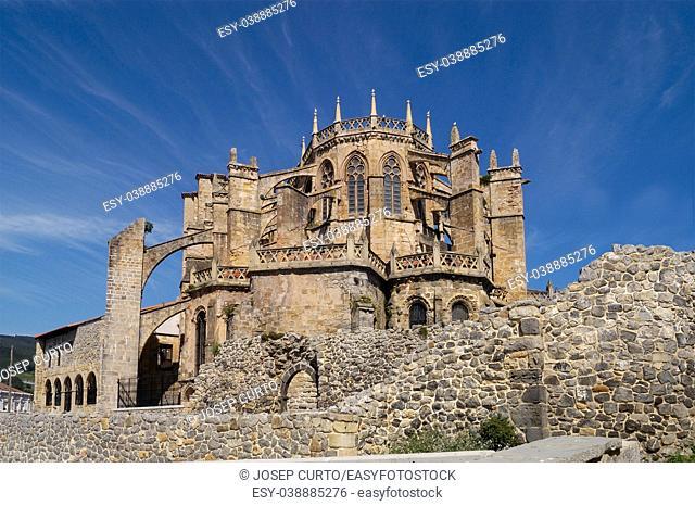 Santa Maria de la Asuncion Cathedral, Castro Urdiales, Cantabria, Spain