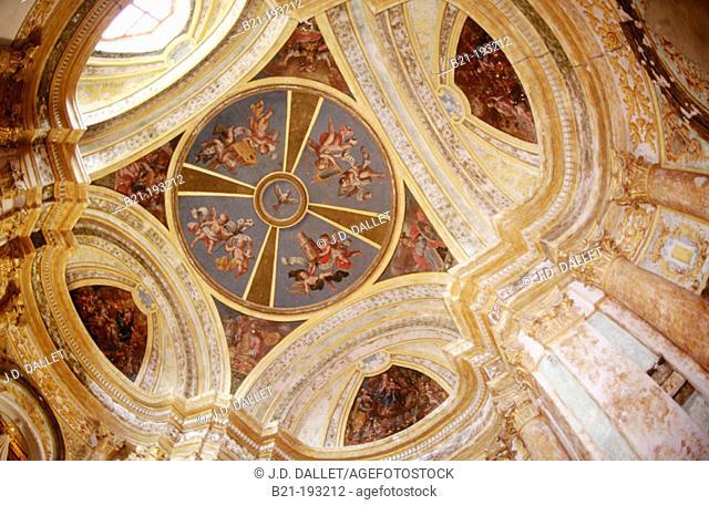 Virgen de la Sabina church. Farlete, Monegros region. Zaragoza province. Spain