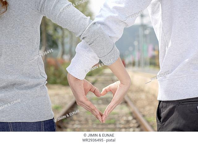 Young loving couple