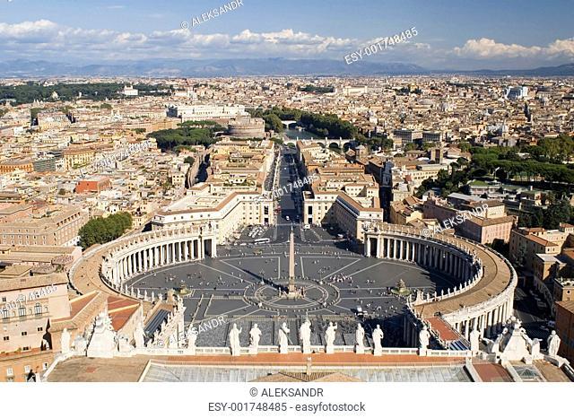 Vatican Saint Peter Square