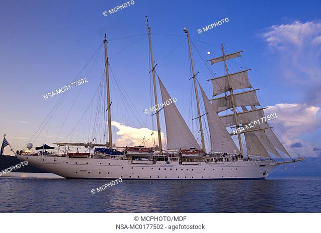 Star Flyer clipper ship on the Andaman Sea, Thailand