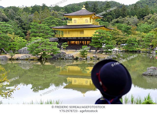 Kinkaku-ji, the Golden Pavilion, Kyoto, Japan, Asia