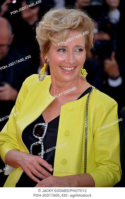 Emma Thompson Arriving on the red carpet for the film 'The Meyerowitz Stories' 70th Cannes Film Festival May 21, 2017 Photo Jacky Godard