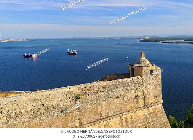 Fort of Sao Felipe.Bay of Setúbal.Portugal