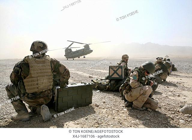 Dutch troops in Afghanistan Uruzgan