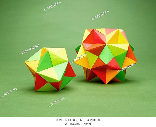 origami ball multiple pieces India Asia