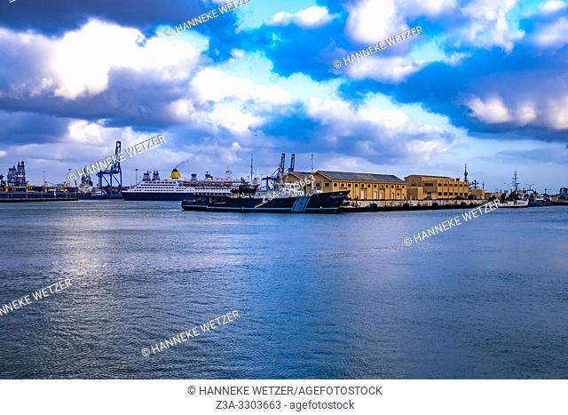 Port of Las Palmas, Gran Canaria, Canary Islands