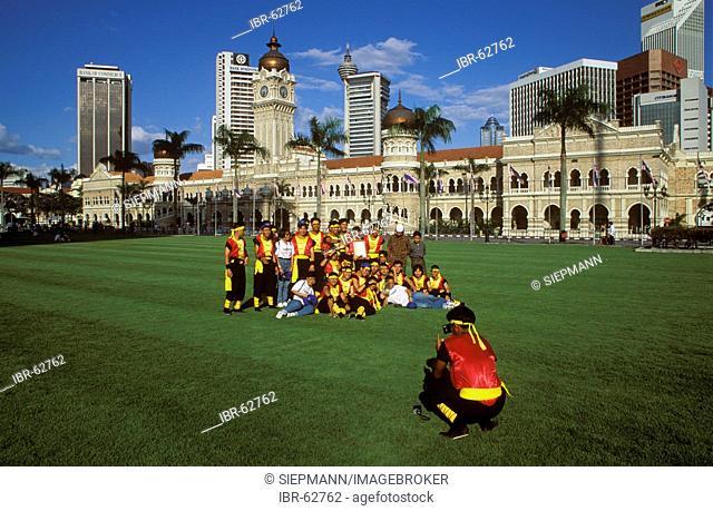 Merdeka Square Sultan Abd Samad Building - Gamelan group - Kuala Lumpur - Malaysia