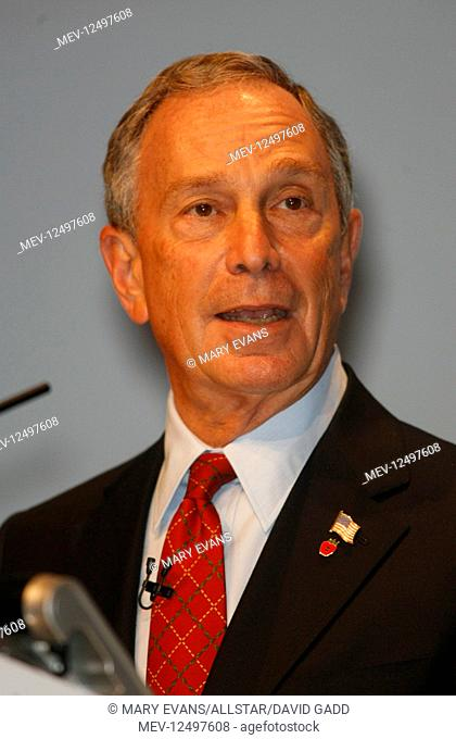 Michael Bloomberg Mayor Of New York Conservative Party Conference 2007 Winter Gardens, Blackpool, England 30 September 2007 CONSERVATIVE PARTY CONFERENCE 2007...