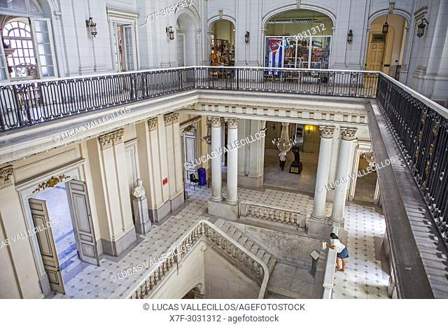 View Of The Former Cuban Presidential Palace Interiors, Now Is The Museum  Of The Revolution
