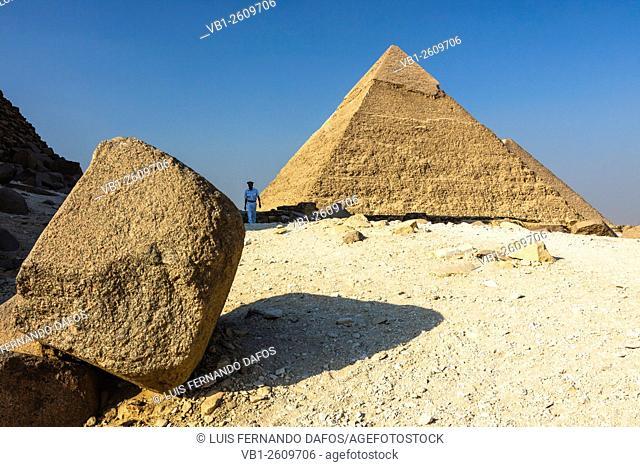Pyramid of Chephren, Cairo, Egypt