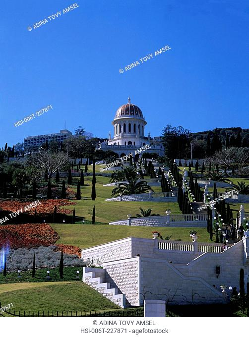 Israel. Haifa. The Bahia Shrine
