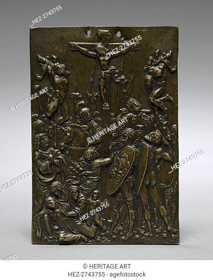 The Crucifixion, 1500s. Creator: Moderno (Italian, 1467-1528)