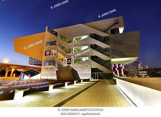 Building Design Hub Barcelona, by MBM architects. Barcelona