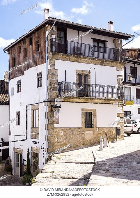 Arquitectura tradicional. Candelario. Salamanca. Castilla León. España