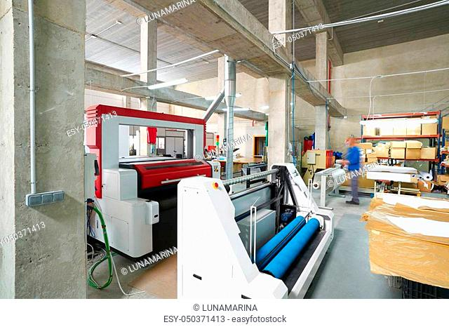 Laser cutting machine factory for textile transfer fashion industry