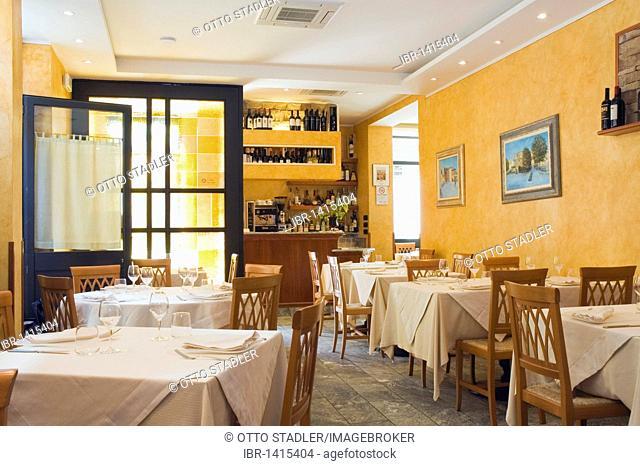 Con Che, restaurant, Pietrasanta, Tuscany, Italy, Europe