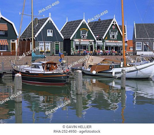 Traditional fishing village, Marken, Holland The Netherlands, Europe