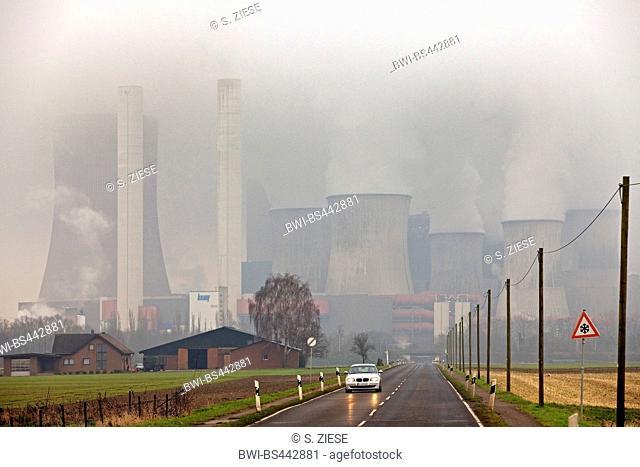 Niederaussem Power Station, Germany, North Rhine-Westphalia, Bergheim