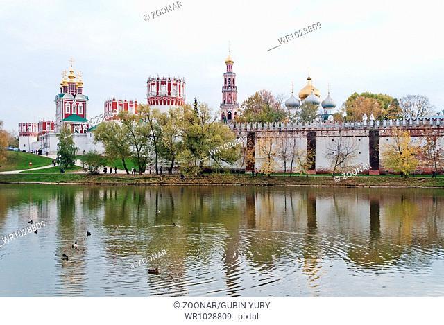 Bogoroditse-Smolensky Convent in Moscow