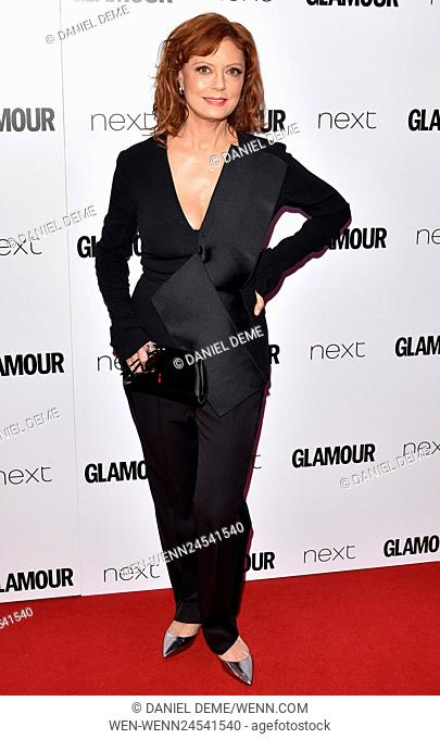 Glamour Women Of The Year Awards held on Berkeley Square - Arrivals Featuring: Susan Sarandon Where: London, United Kingdom When: 07 Jun 2016 Credit: Daniel...
