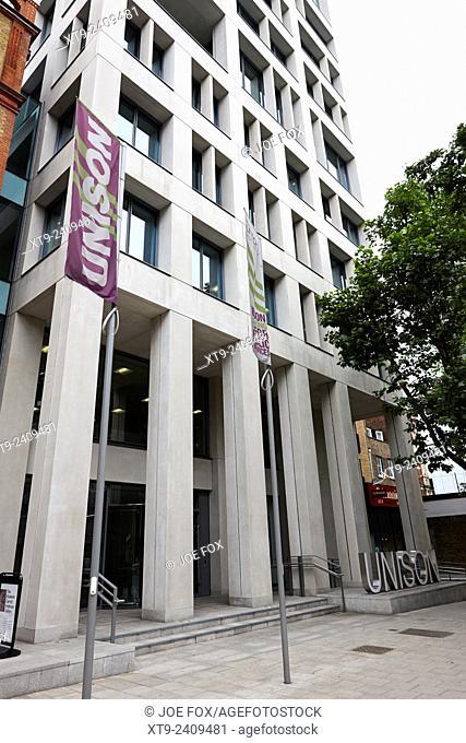 unison union headquarters euston road London England UK