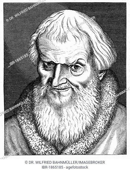 Hans Sachs (1494-1576), poet, mastersinger, dramatist, shoemaker