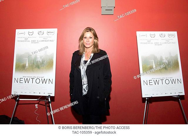 Maria Cuomo Cole at the premier of Newtown at the Landmark Sunshine Theater on October 7, 2016 in New York, New York