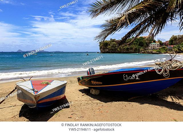 View from Sauteurs Bay, St Patrick Parish, Grenada, West Indies