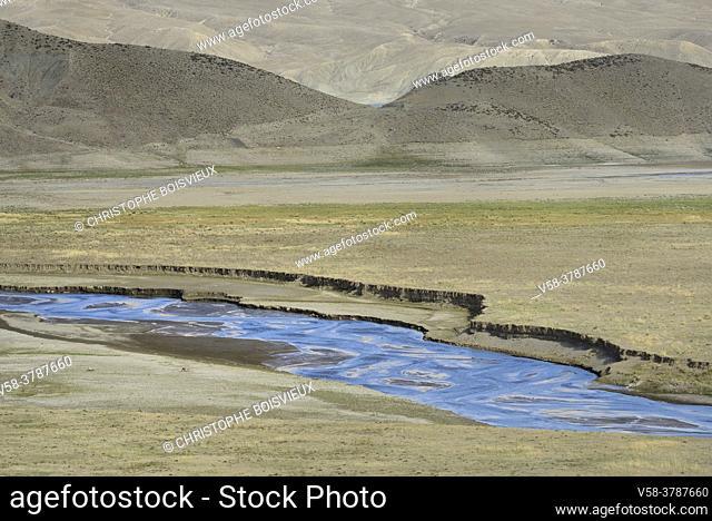 Iran, West Azerbaijan province, Maku region, Zangmar River