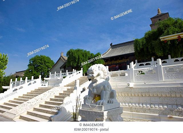 Asia, China, Shanxi, Xi'an, Da Ci'en Temple