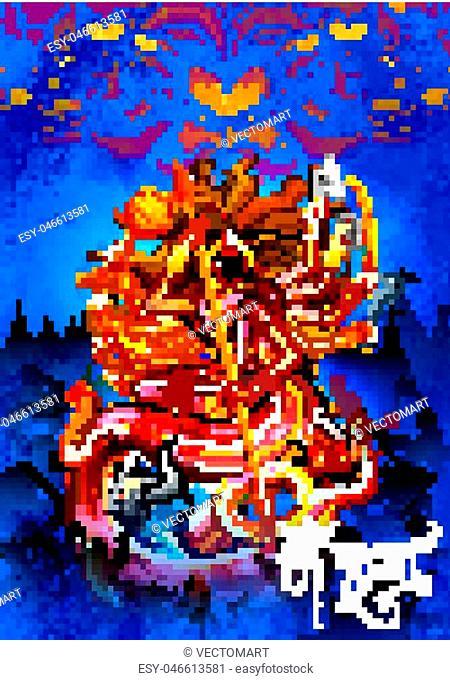 Goddess durga worship Stock Photos and Images | age fotostock