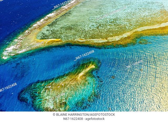 The New Caledonia Barrier Reef the second longest double-barrier reef in the world, a UNESCO World Heritage Site off Noumea on Grand Terre, New Caledonia