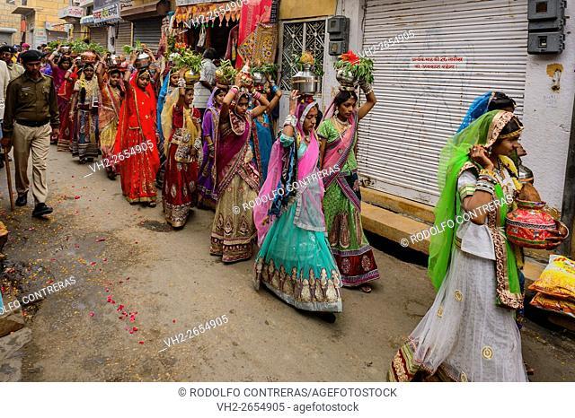 Parade at Desert Festival in Jaisalmer, Rajasthan, India