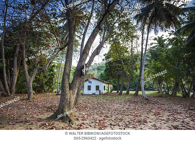 U. S. Virgin Islands, St. Thomas, Dorothea, basketball court