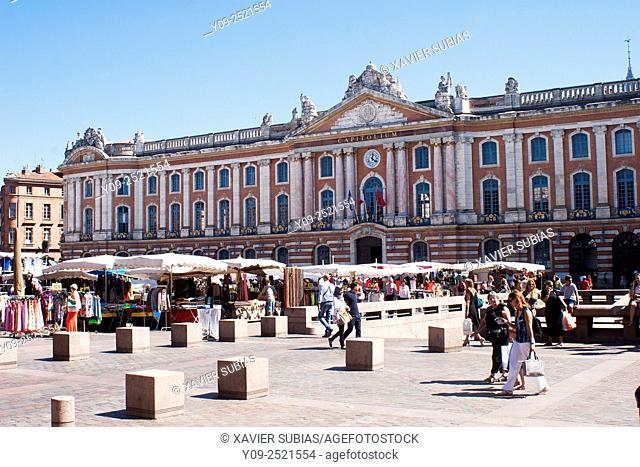 Capitole de Toulouse, Toulouse, Haute-Garonne, Midi-Pyrénées, France