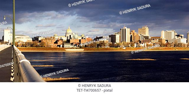 Pennsylvania, Harrisburg, cityscape