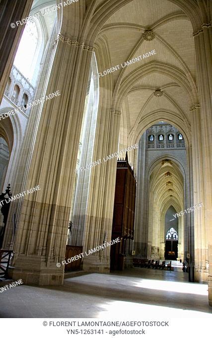 France, Pays de la Loire, Loire Atlantique, Nantes - Cathedral of Saint Pierre Saint Paul
