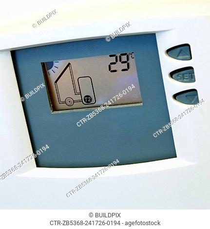 Thermostat for solar power