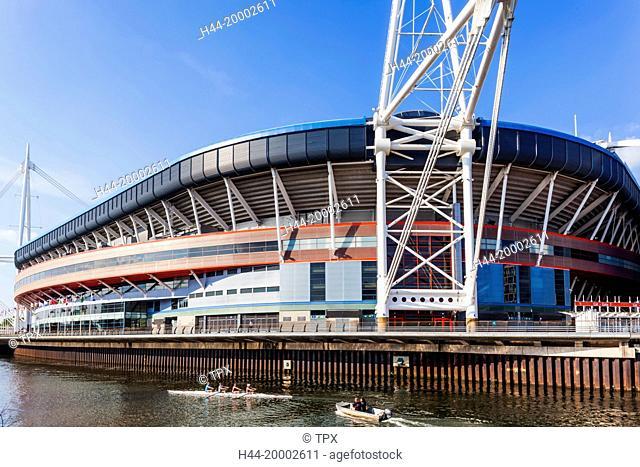 Wales, Cardiff, The Millennium Stadium aka Principality Stadium