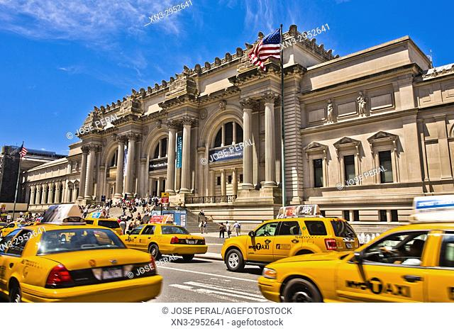 Metropolitan Museum of Art, the Met, 5th Avenue, Manhattan, New York, New York City, United States, USA