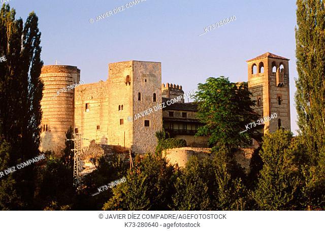 Castle of Castilnovo (14th-15th Centuries). Perorrubio. Segovia province. Castilla y Leon. Spain