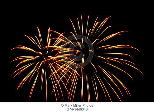 Fireworks Celebration Display, California, USA