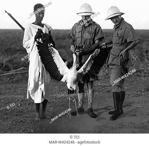 wader, el gorum, somalia, africa 1930-40