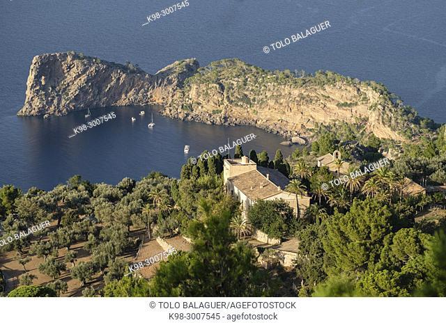 Sa Foradada, finca de miramar, Majorca, Balearic Islands, Spain