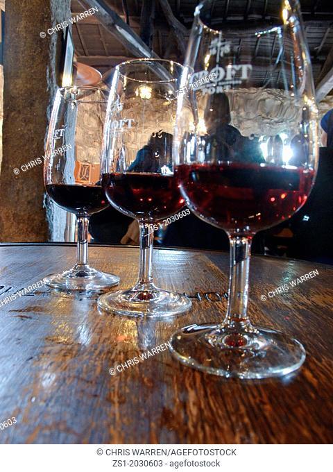 Port wine tasting Croft Port wine cellars Porto Portugal.1015