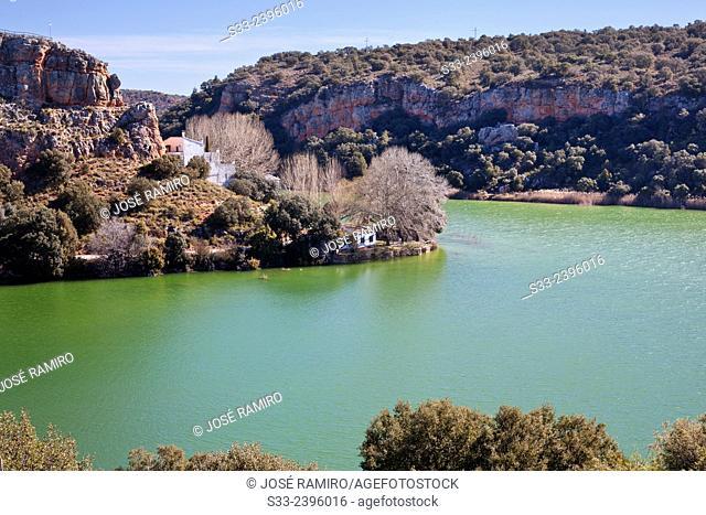 San Pedro lagoon. Lagunas de Ruidera Natural Parck. Albacete. Castilla la Mancha. Spain. Europe