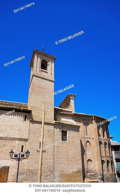 Toledo San Vicente plaza in Castile La Mancha of Spain